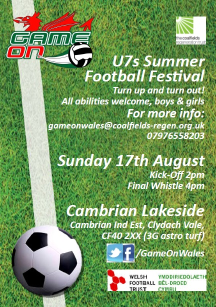 Game On summer football fun at the Lakeside