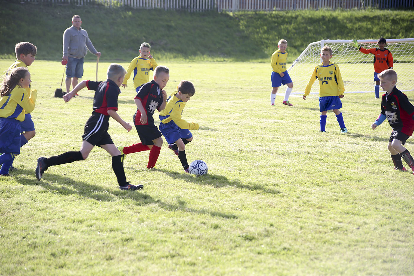 Small club 'overwhelmed' by the interest shown in football festival