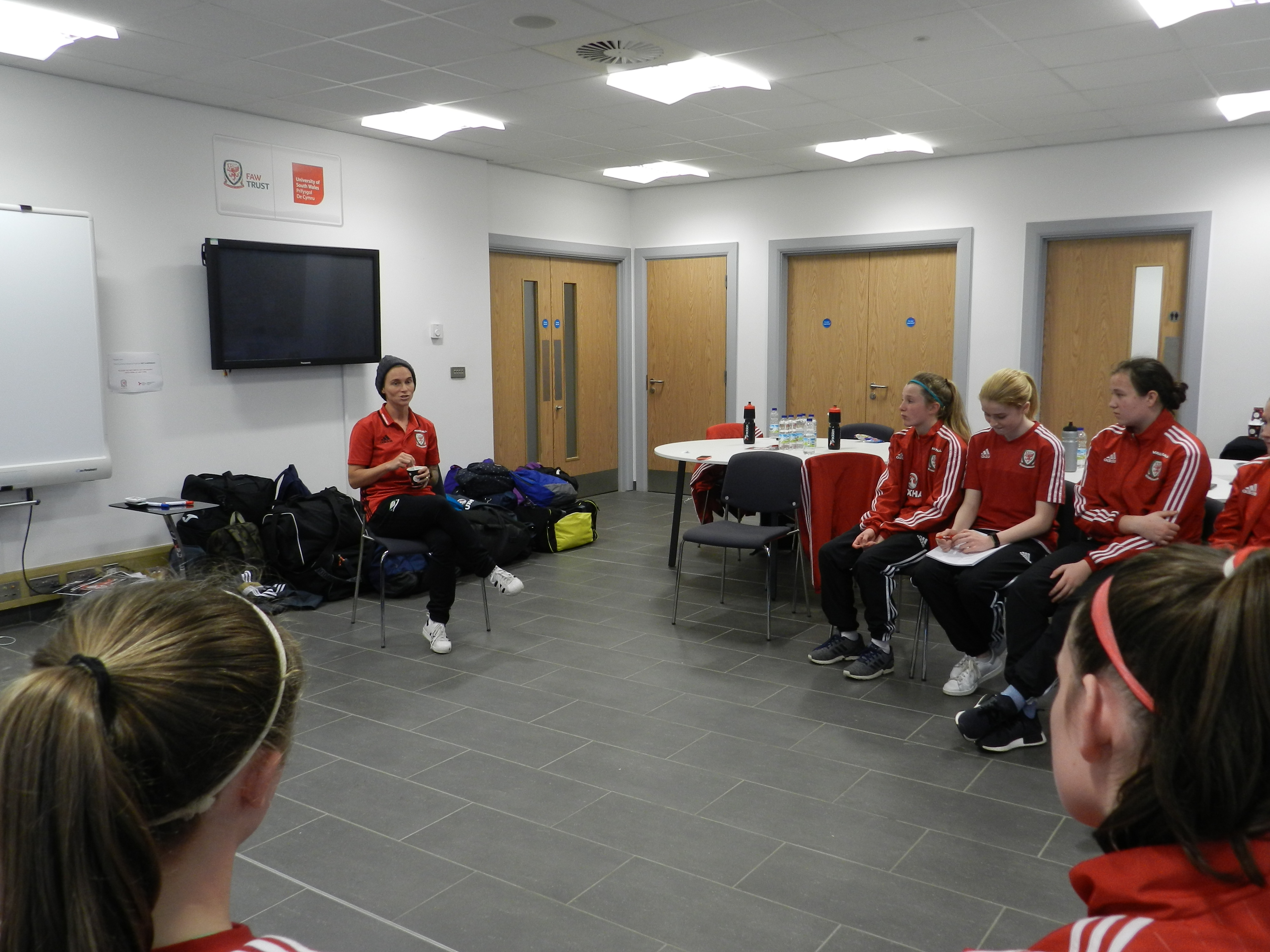 Jess Fishlock Q&A: Wales women's superstar passes on advice to U15 Girls
