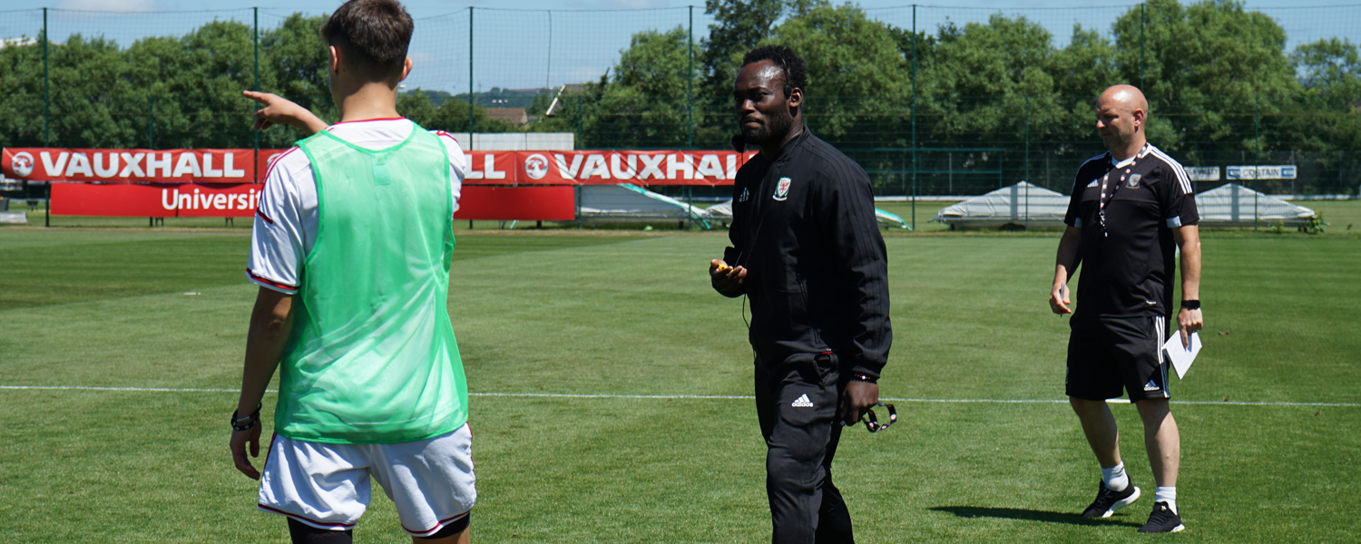 Michael Essien Q&A: Chelsea star looks back on his FAW UEFA B Licence experience
