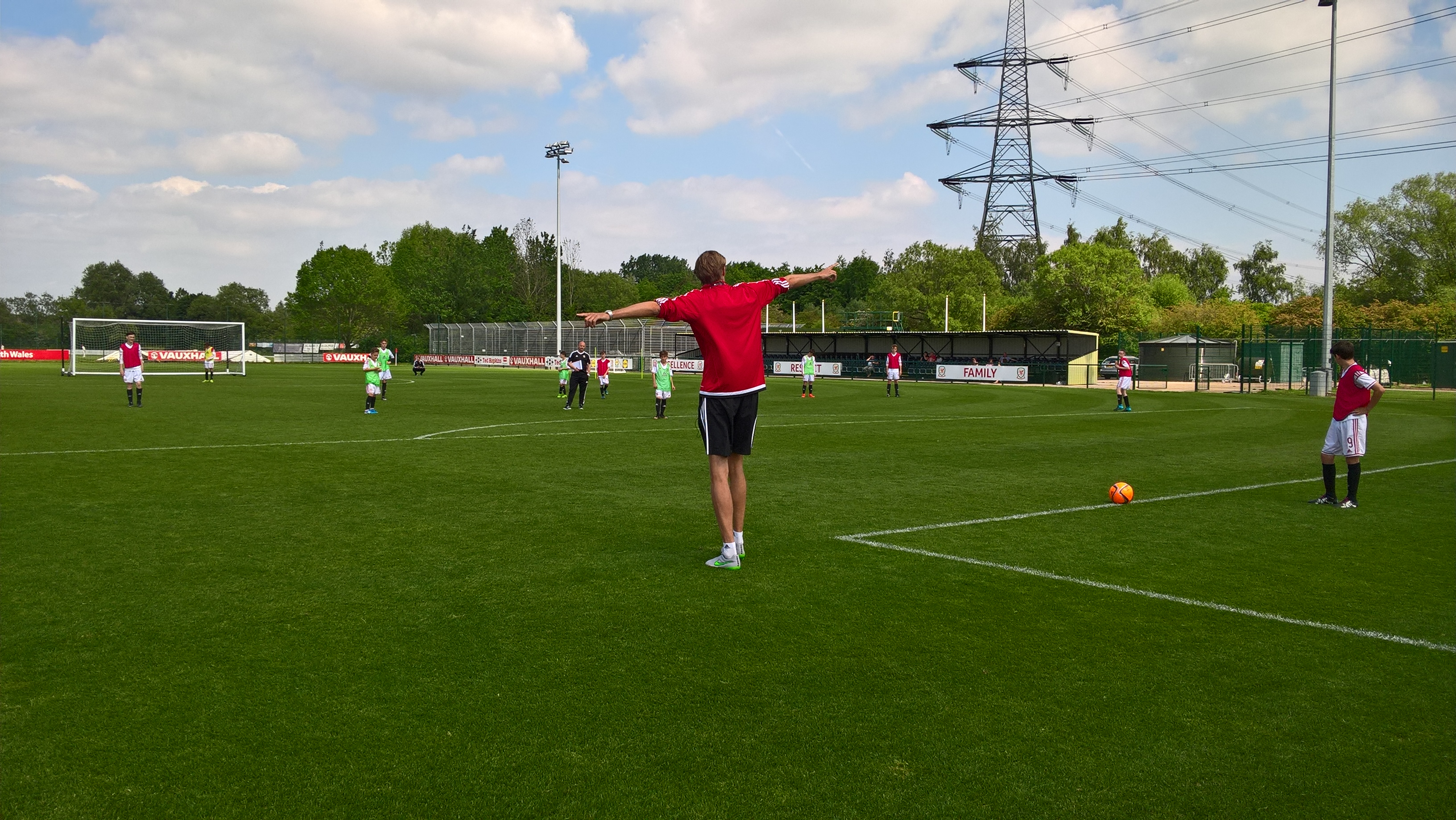 England striker Peter Crouch explains why he's on our UEFA B Licence course