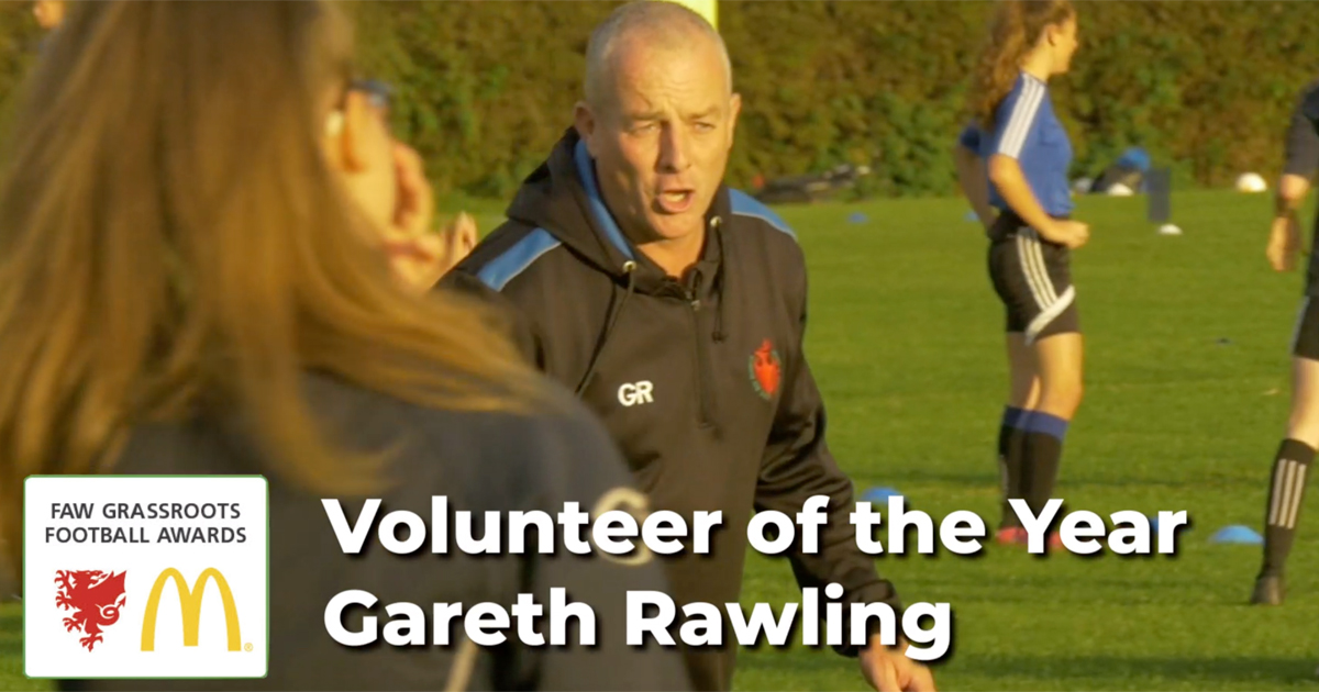 Meet our Grassroots Football Volunteer of the Year