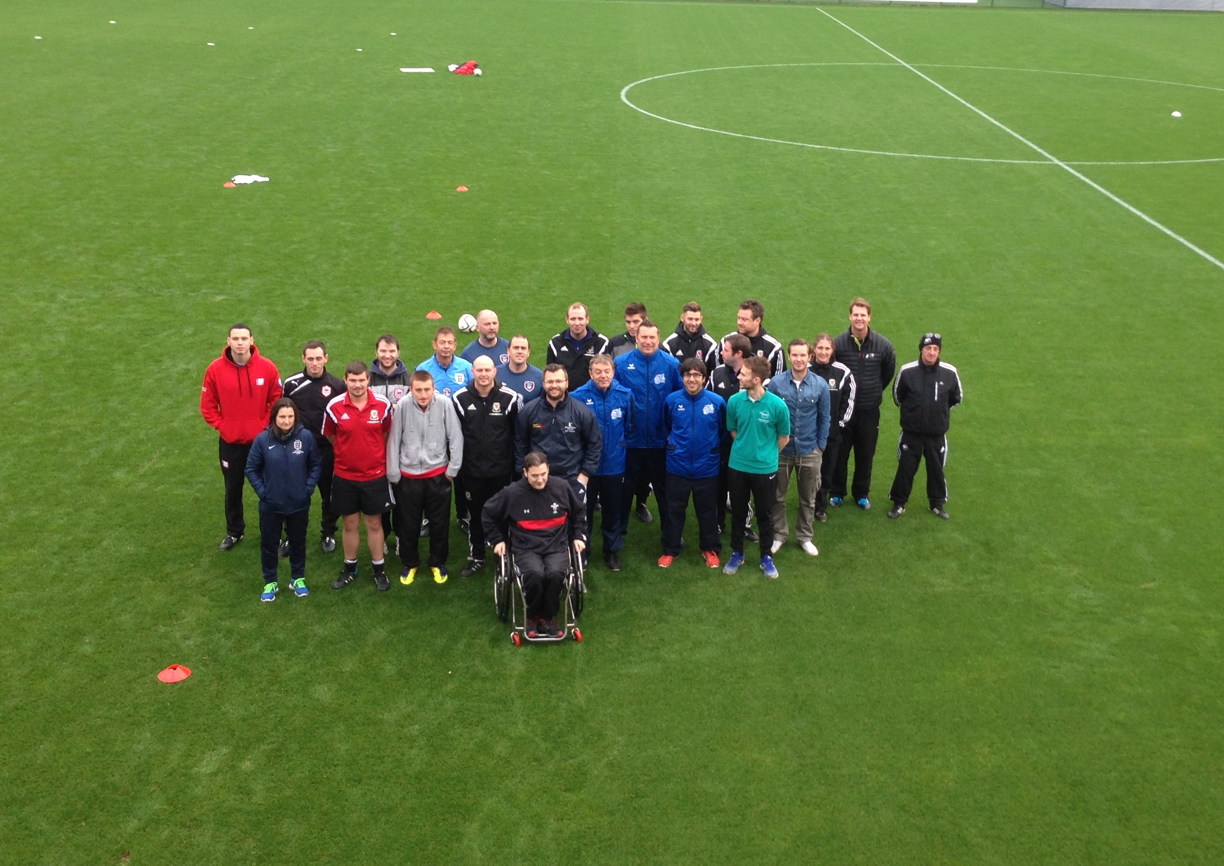 Wales hosts CP Development Course