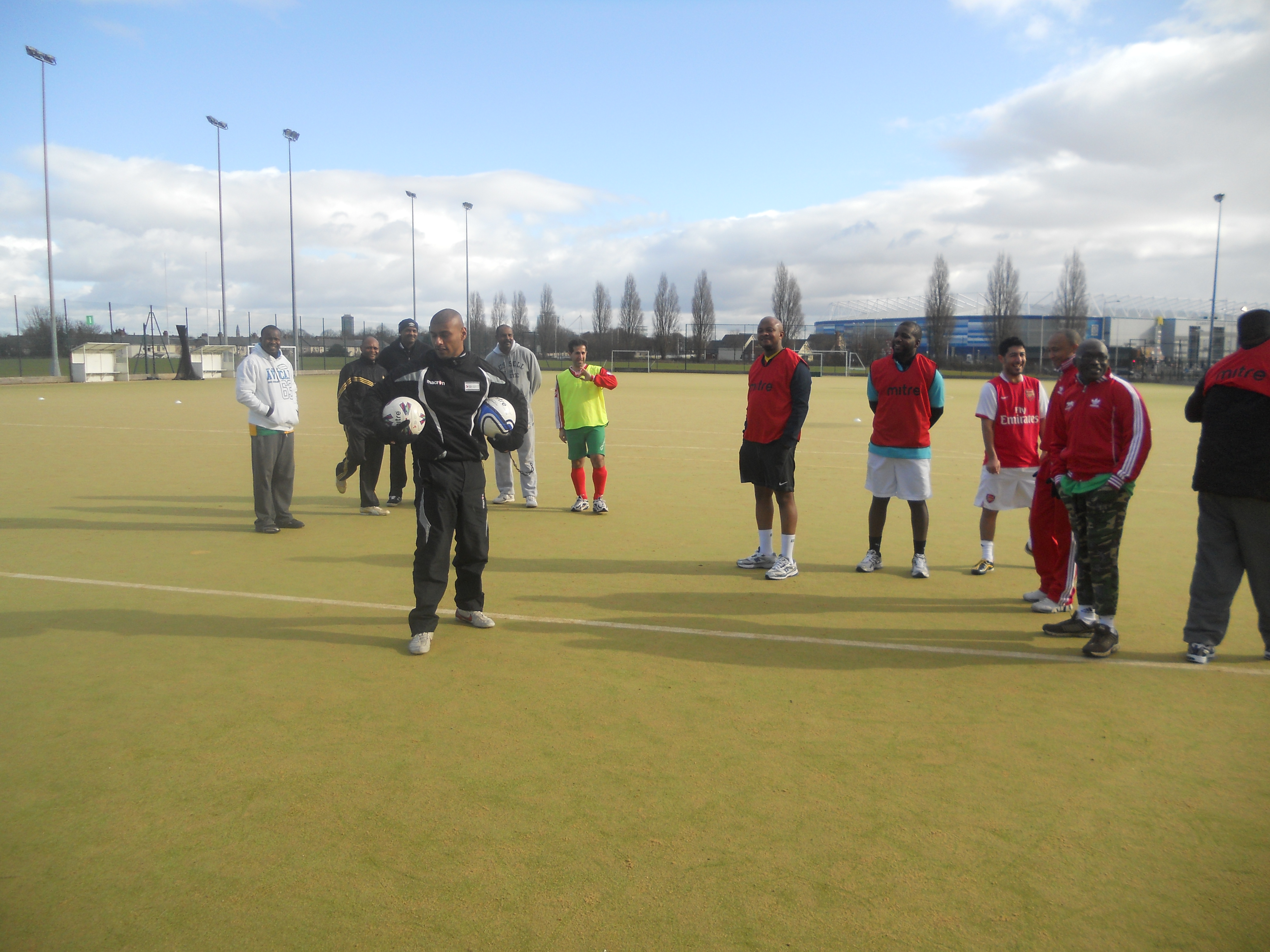 Cymru Refugee Football League Success
