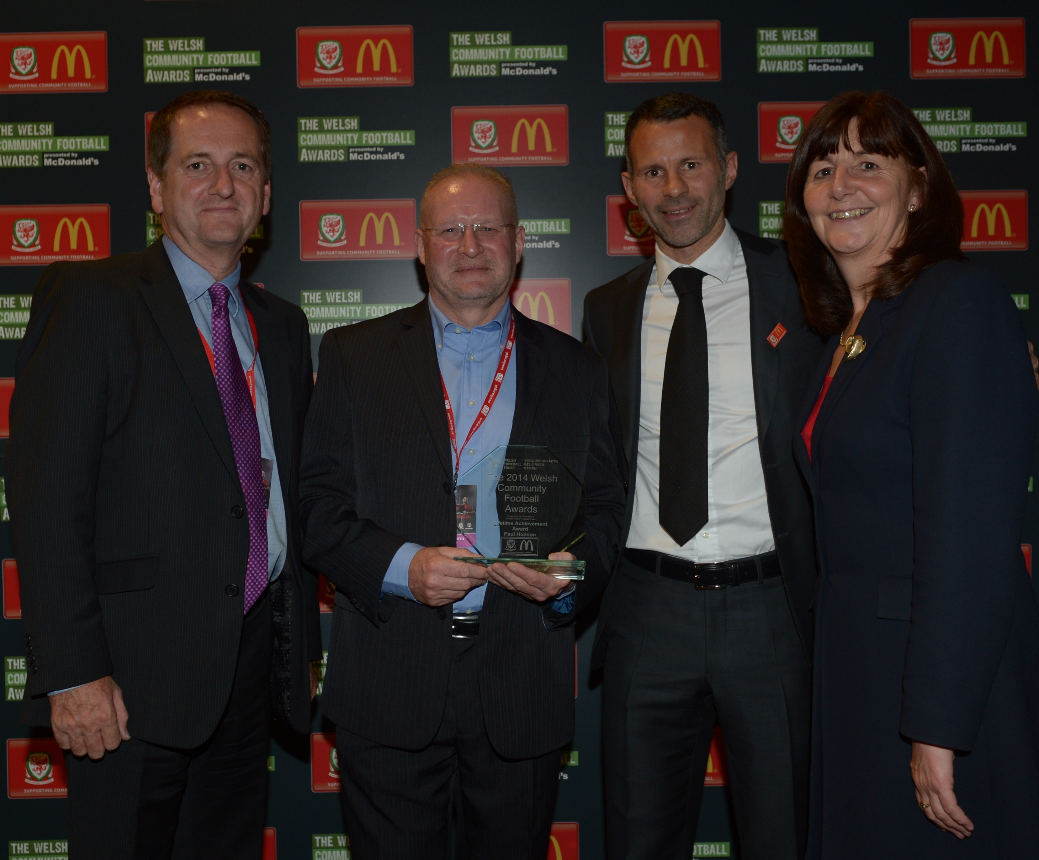 Welsh Community Football Awards Regional Winners