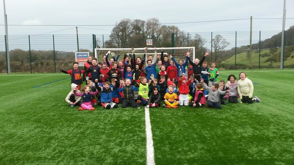 HALF TERM SOCCER CAMPS WITH BANGOR CITY FC