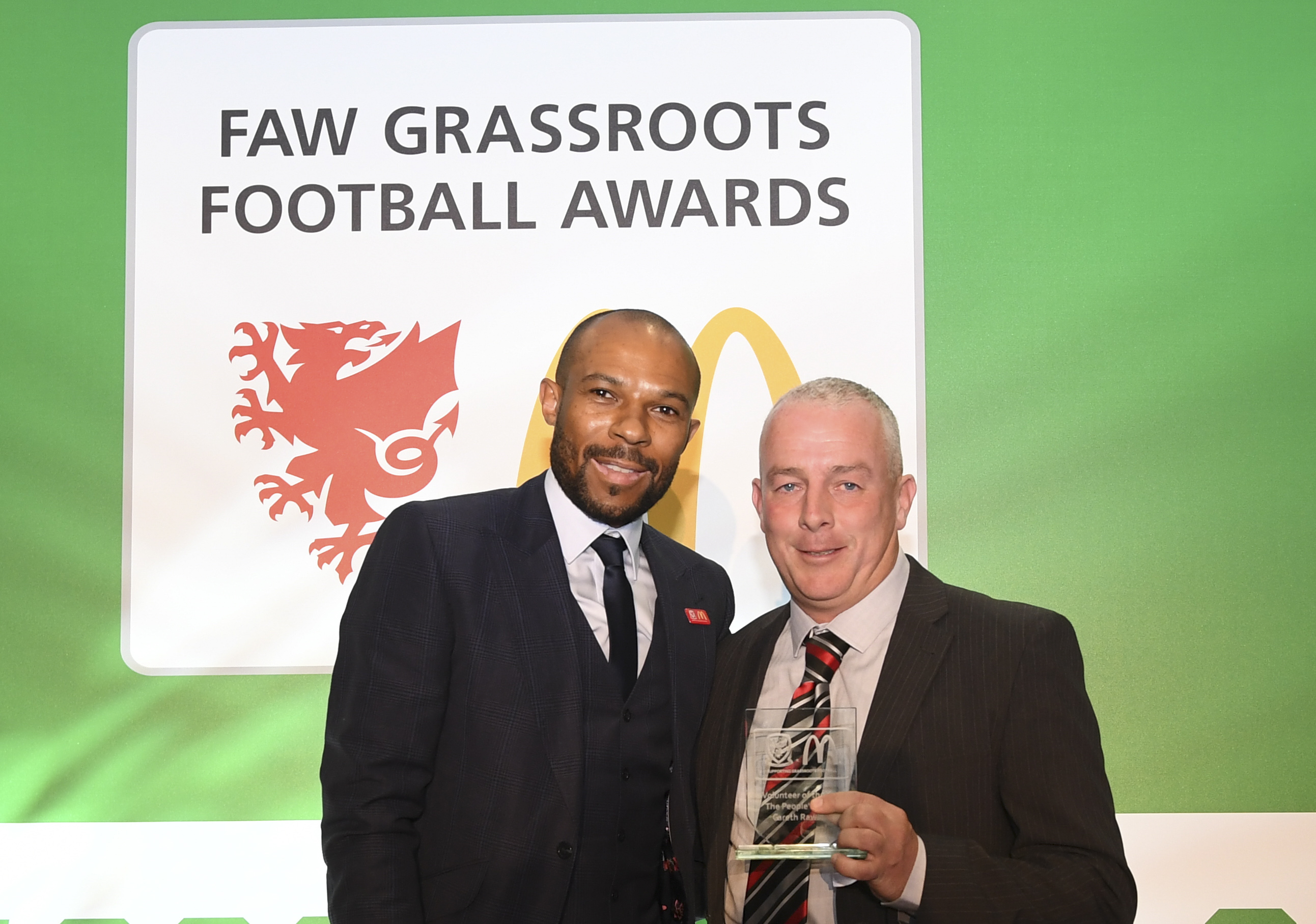 Llandudno coach Gareth Rawling named Volunteer of the Year