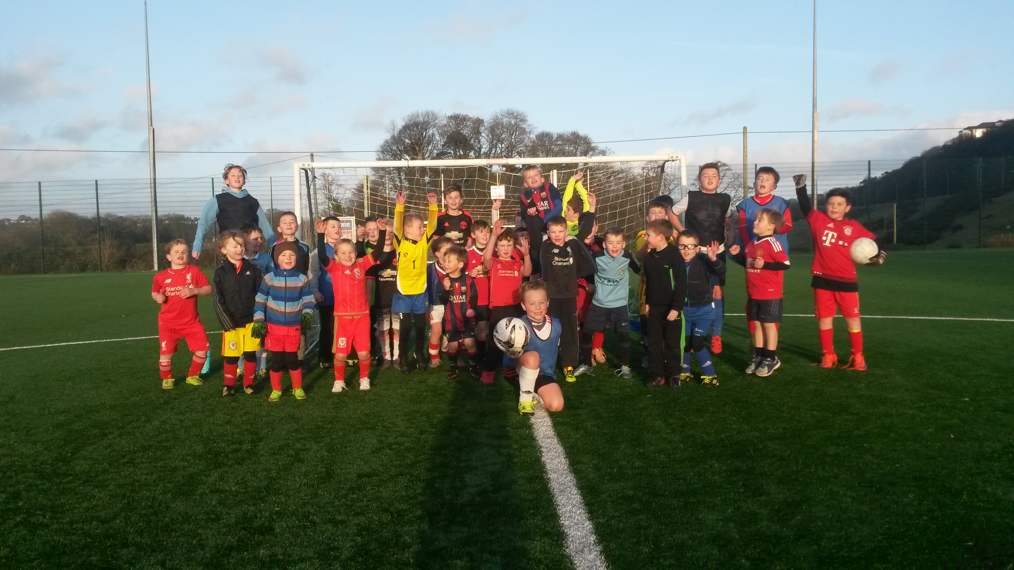 Christmas Drop and Shop Camp Success at Bangor City FC