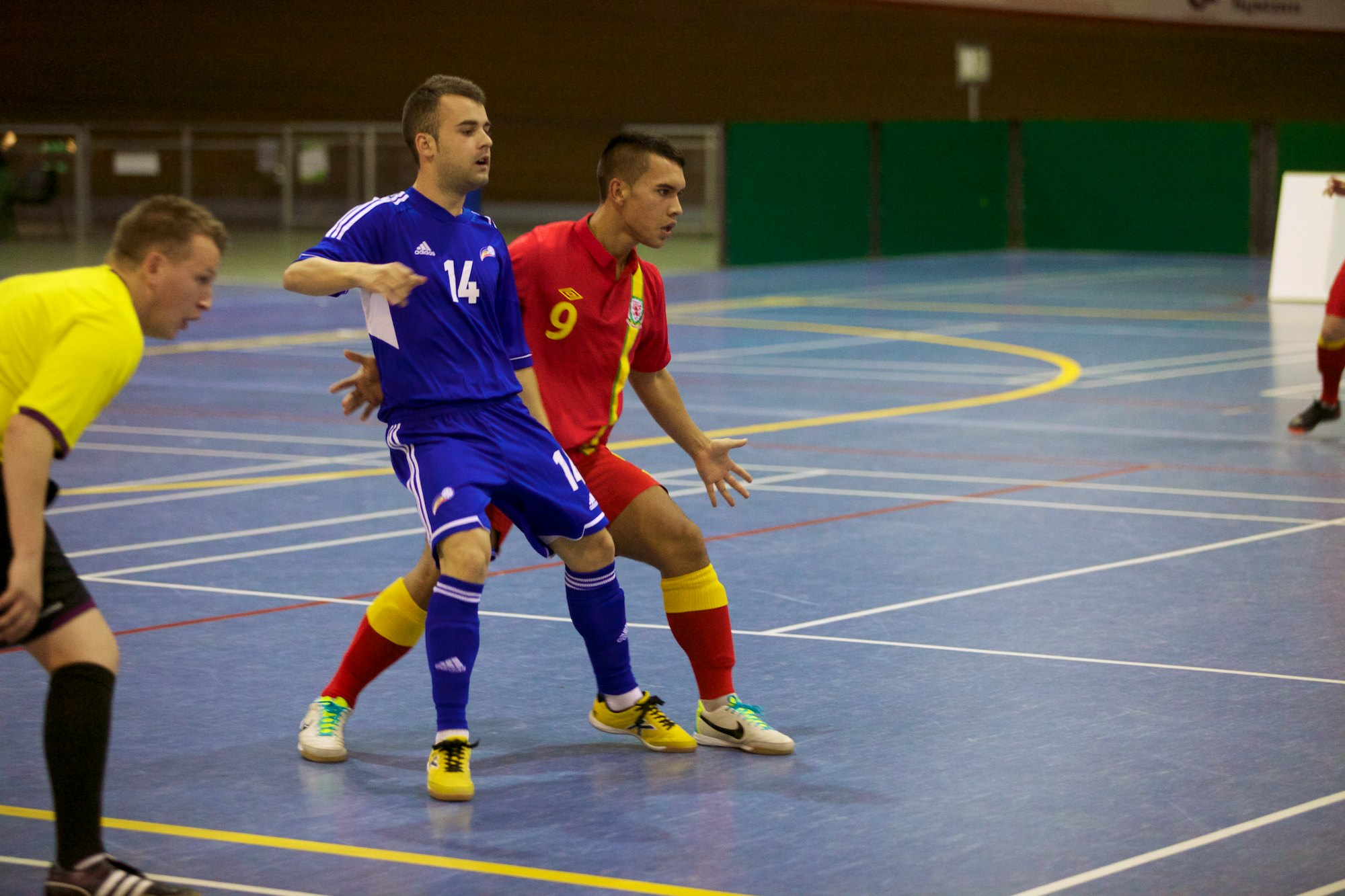 Futsal player Rico makes it to the World Cup in Brazil
