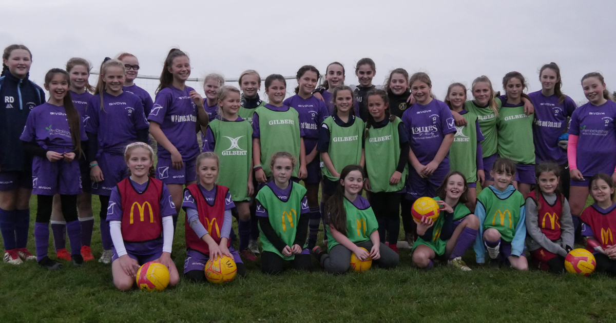 How to set-up a thriving female football team from scratch