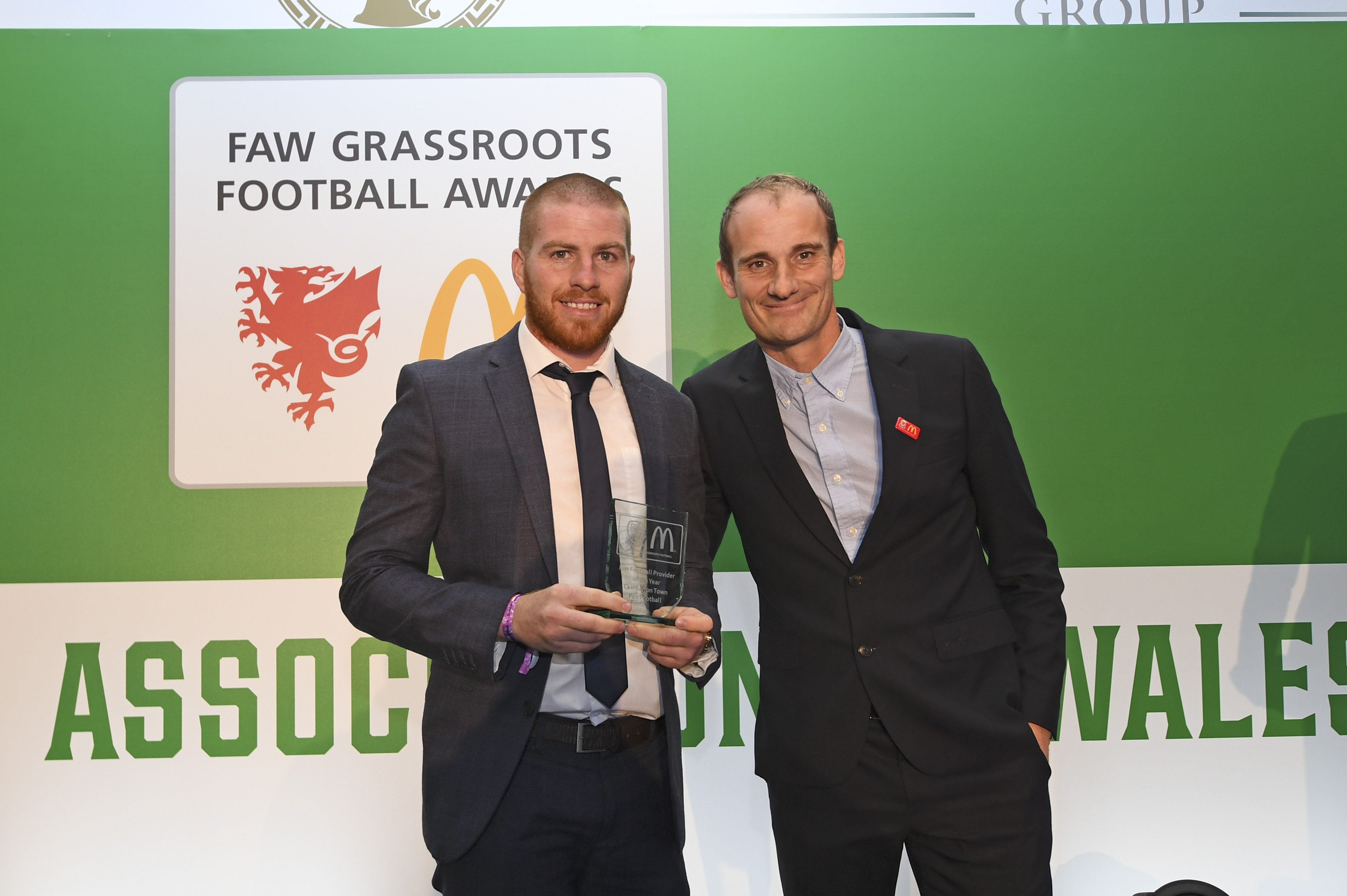 Caernarfon Town scoop Fun Football Provider of the Year as volunteer Jessica Lane receives special recognition