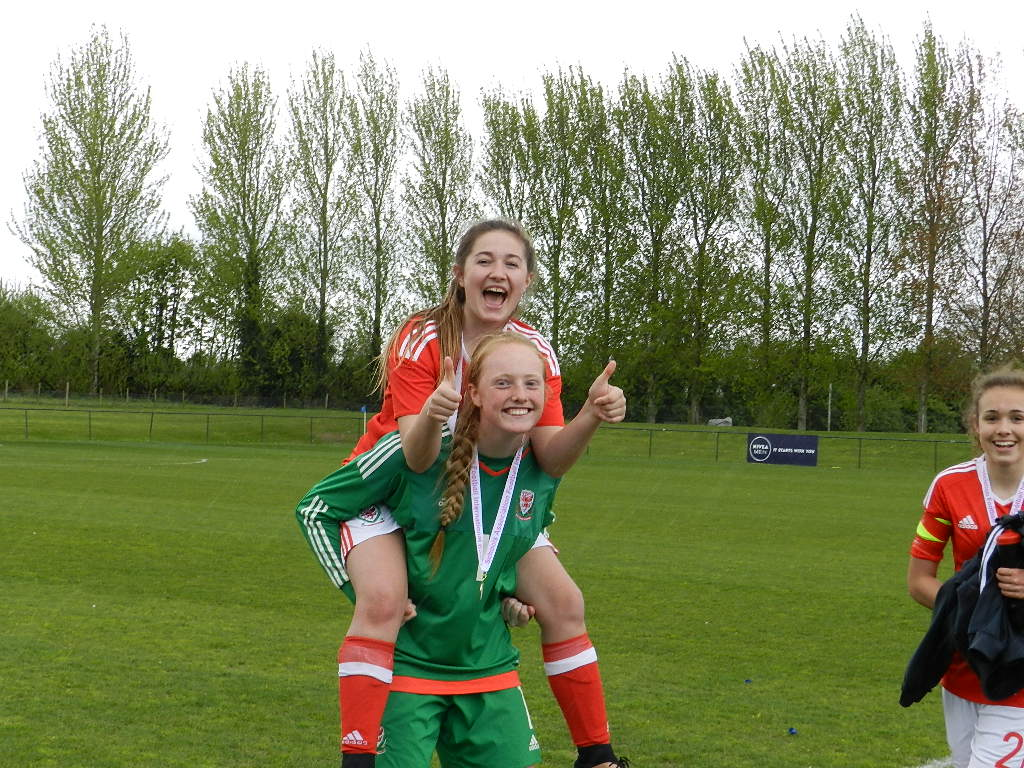 Wales U15 Girls have won the Bob Docherty Cup