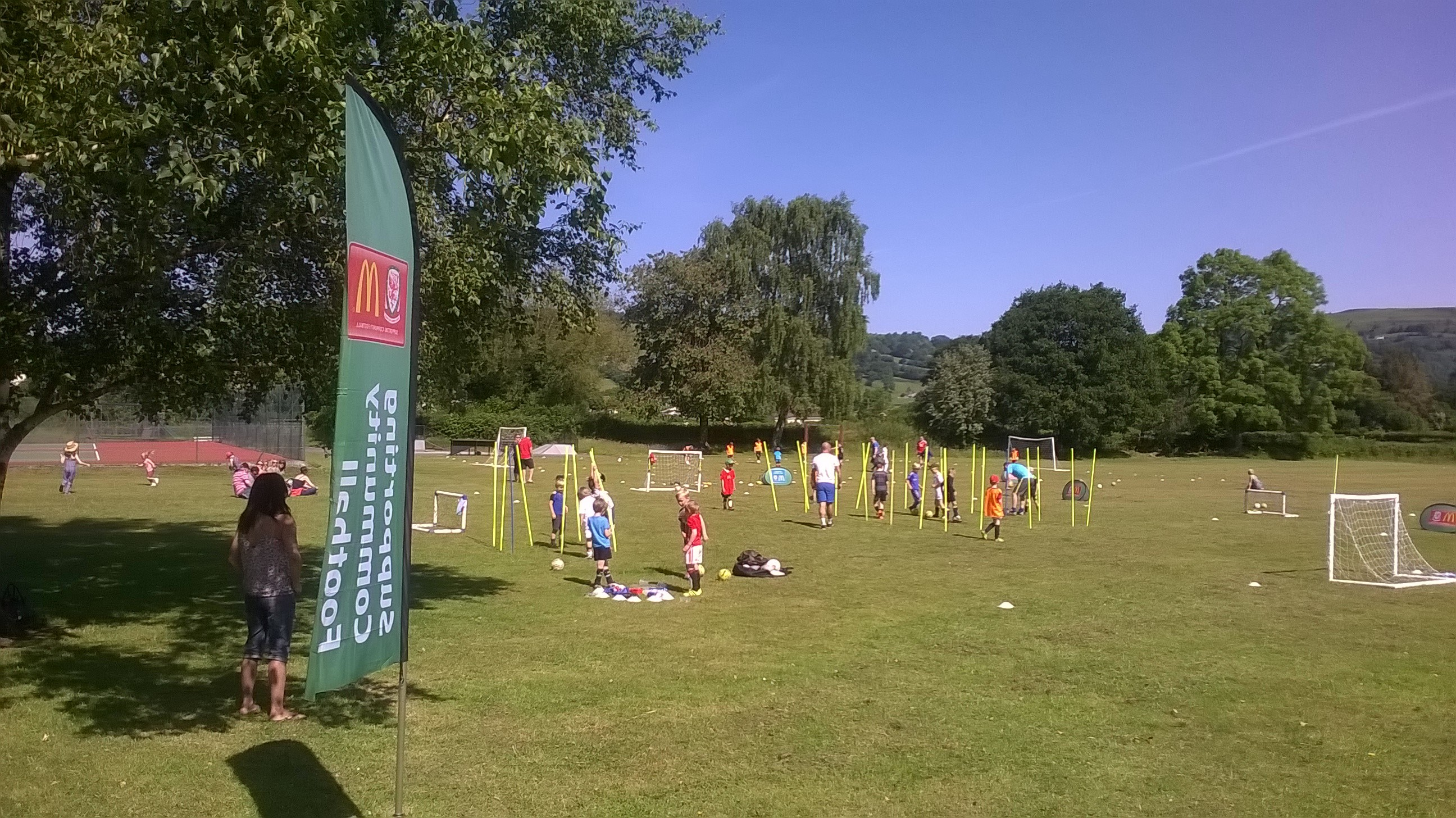 Llangynidr JFC aim to grow after successful McDonald's Community Football Day