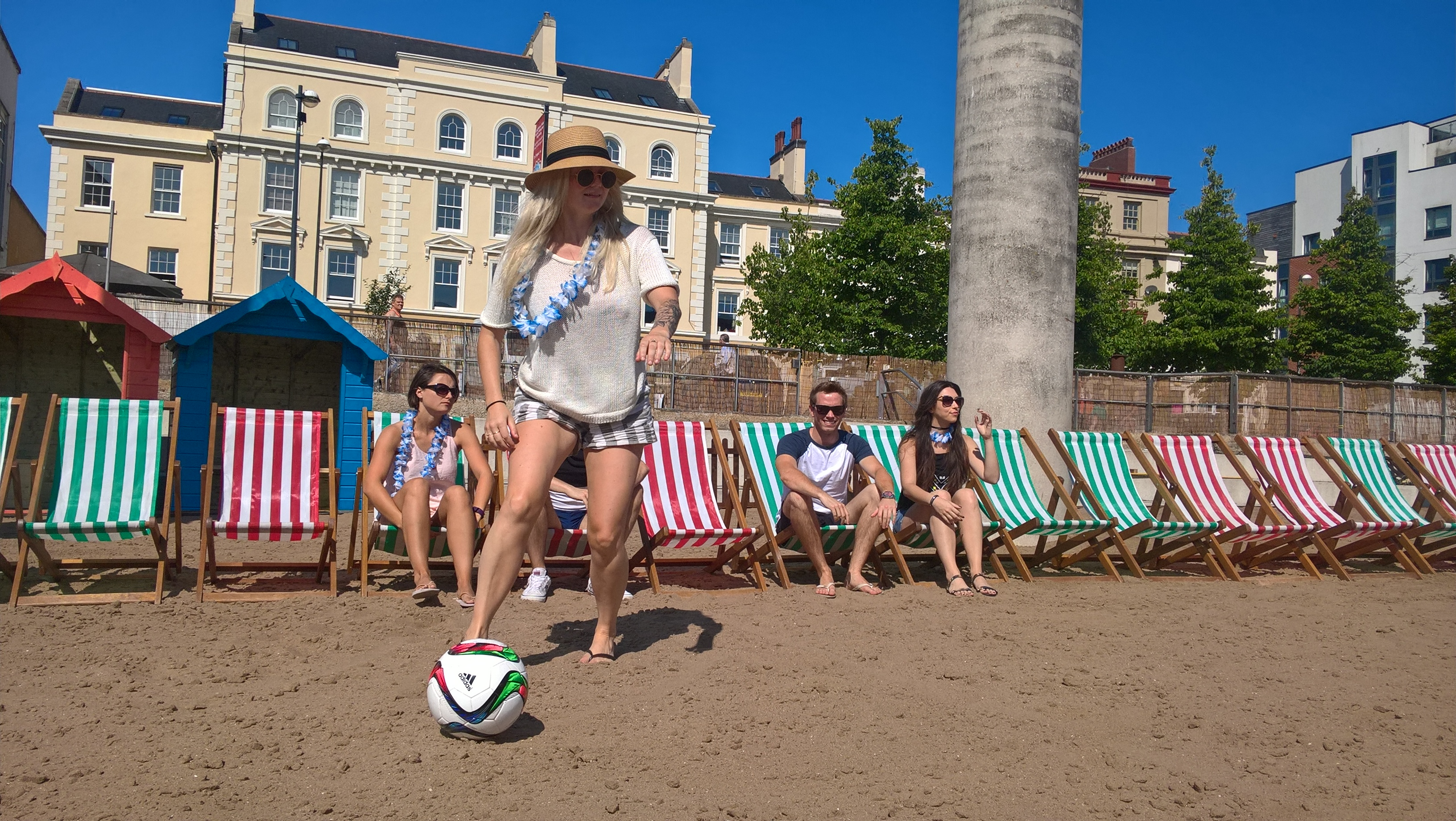 So who's up for the Cardiff Bay Beach Beatball Barbecue?