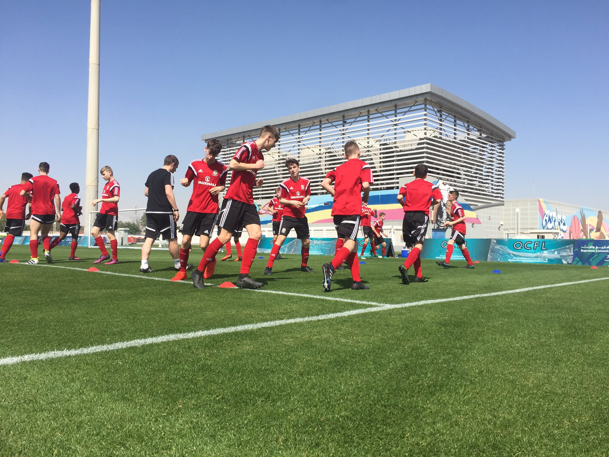 Here's the Wales U16 squad for the Victory Shield warm-up matches against Gibraltar