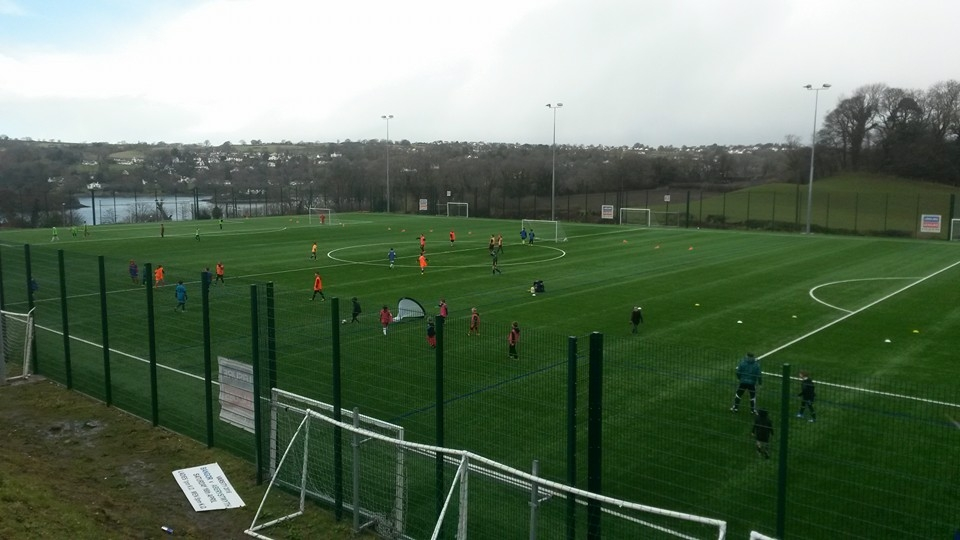 Merthyr Town and local schools help to Transform Communities through Football for All