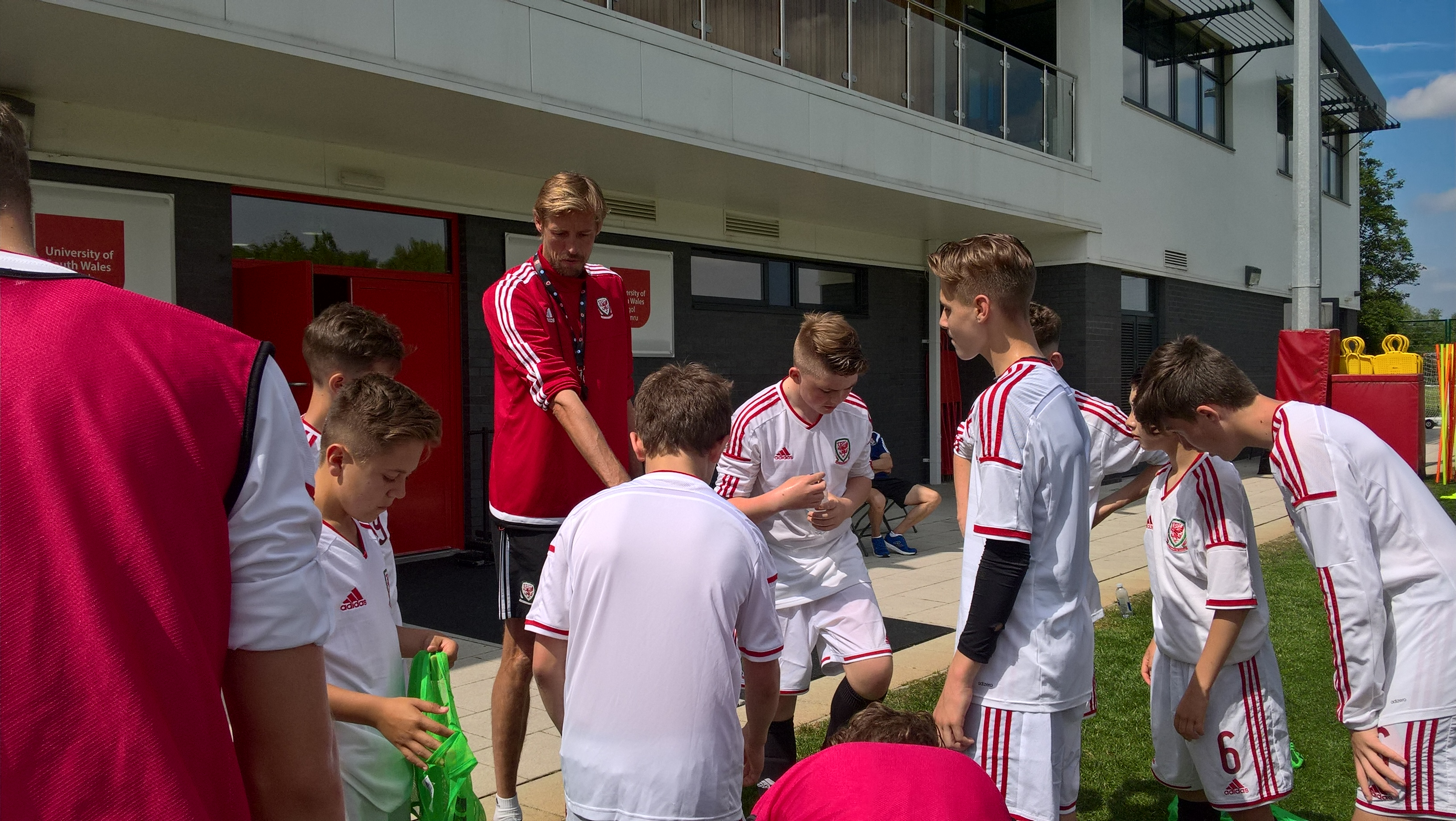 England striker Peter Crouch explains why he's on our UEFA B Licence coaching course
