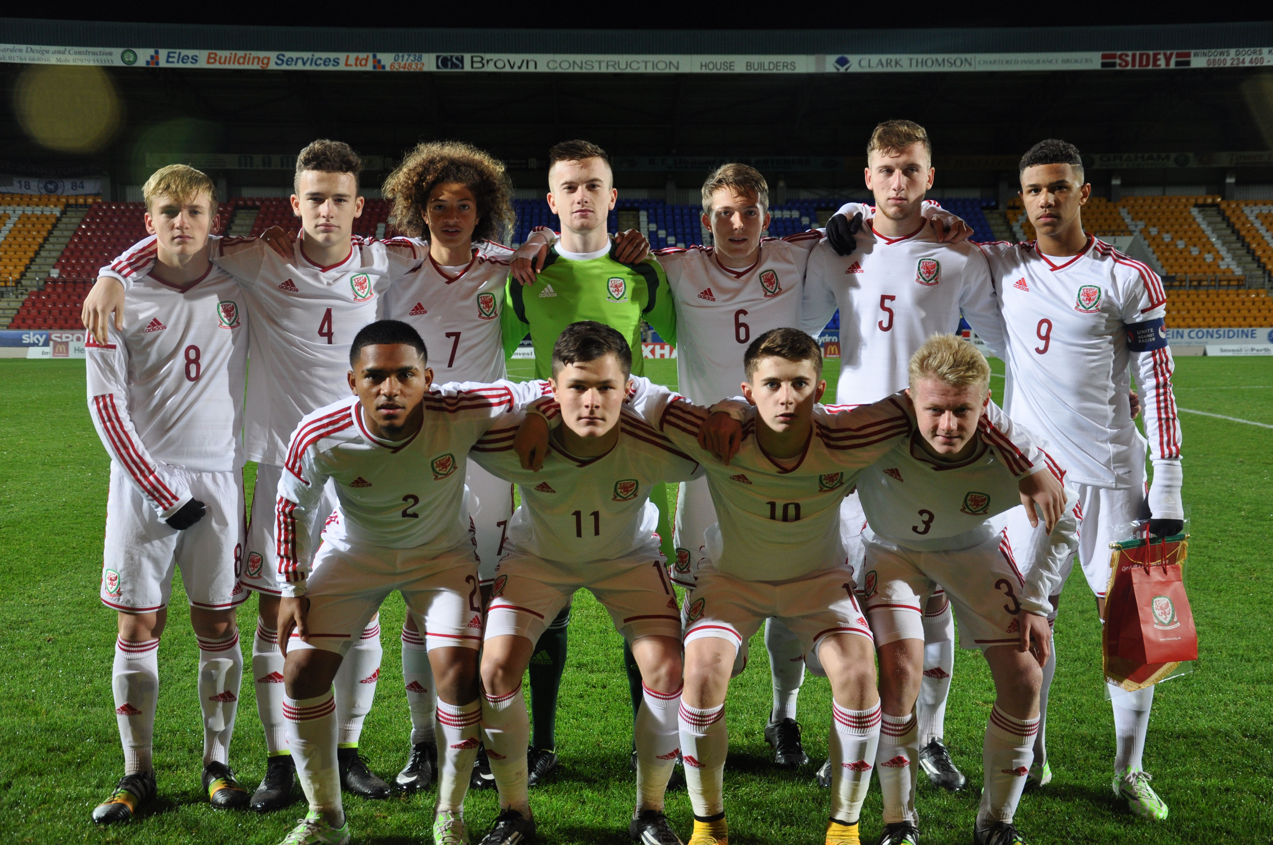Wales U16's Beat Scotland in Perth