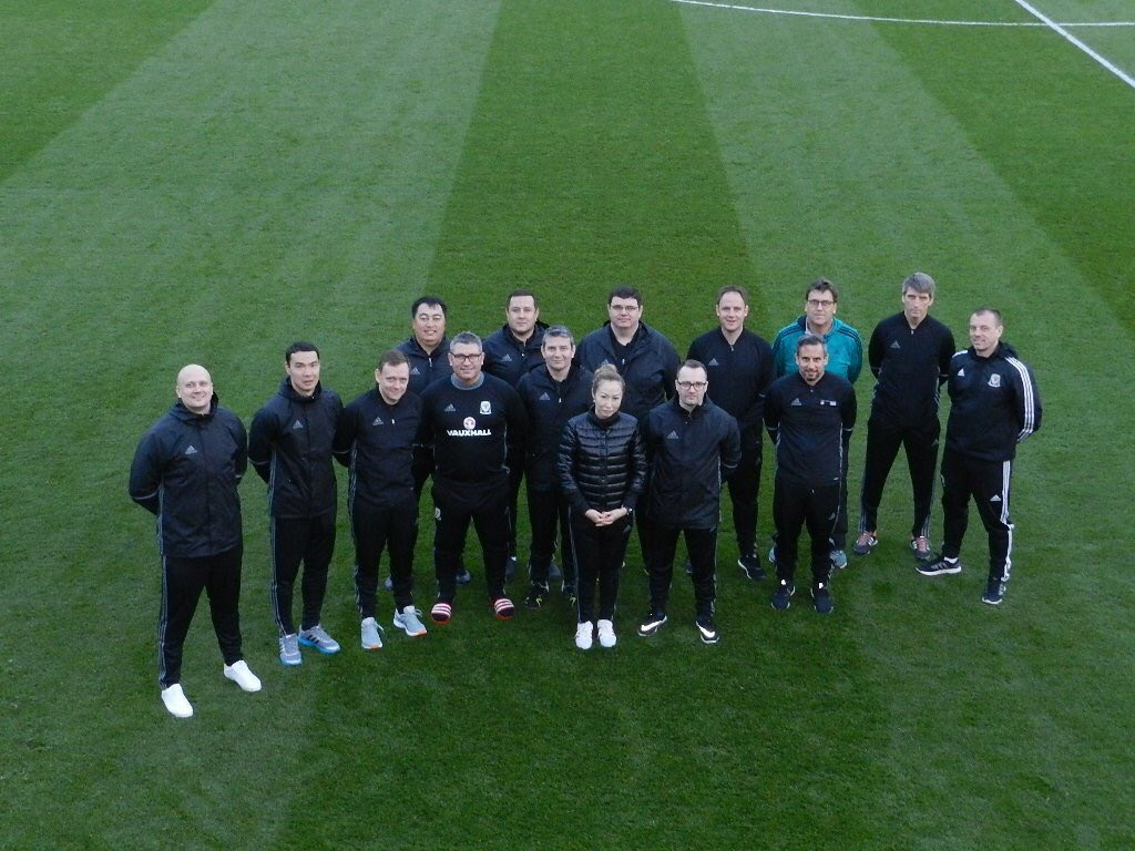 UEFA Study Group come to Wales to learn about Coach Education