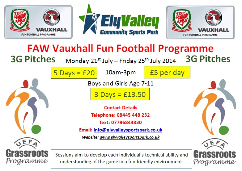 Vauxhall brings Football Fun to Wales