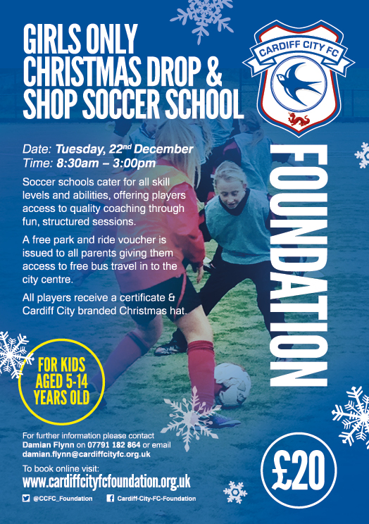 Christmas Only Drop and Shop Soccer School