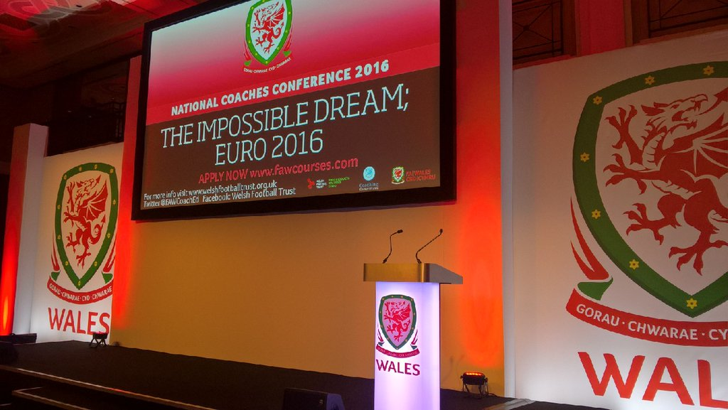 Star names gather in Wales for National Coaches Conference 2016