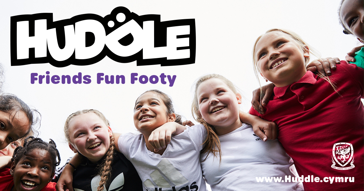 Where 5 to 12-year-old girls fall in love with football