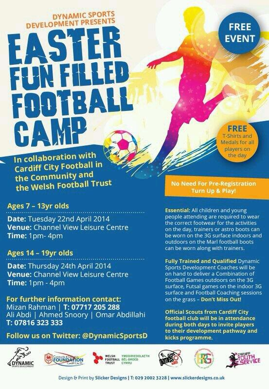 Grangetown Easter Football Camp
