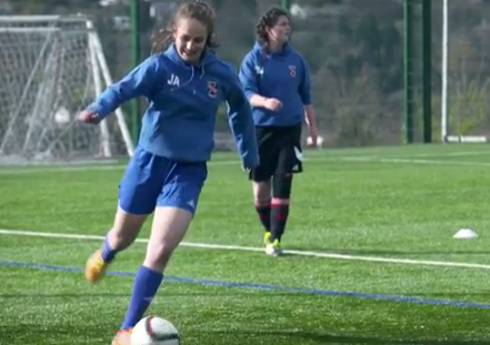 'Football is not just a man's game, it's anybody's game' Bangor City player Jade Adams exp
