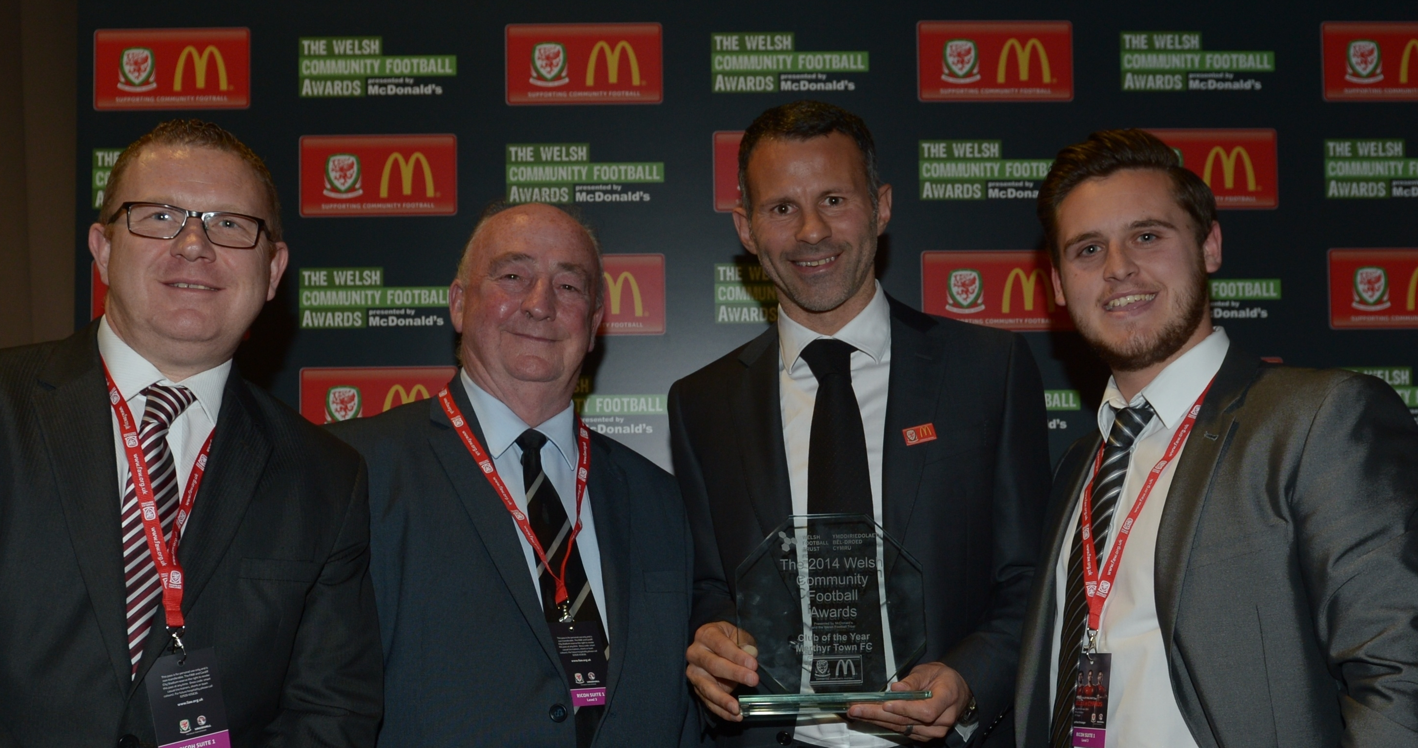 Manchester United Legend opens nominations for the 2015 Welsh Community Football Awards
