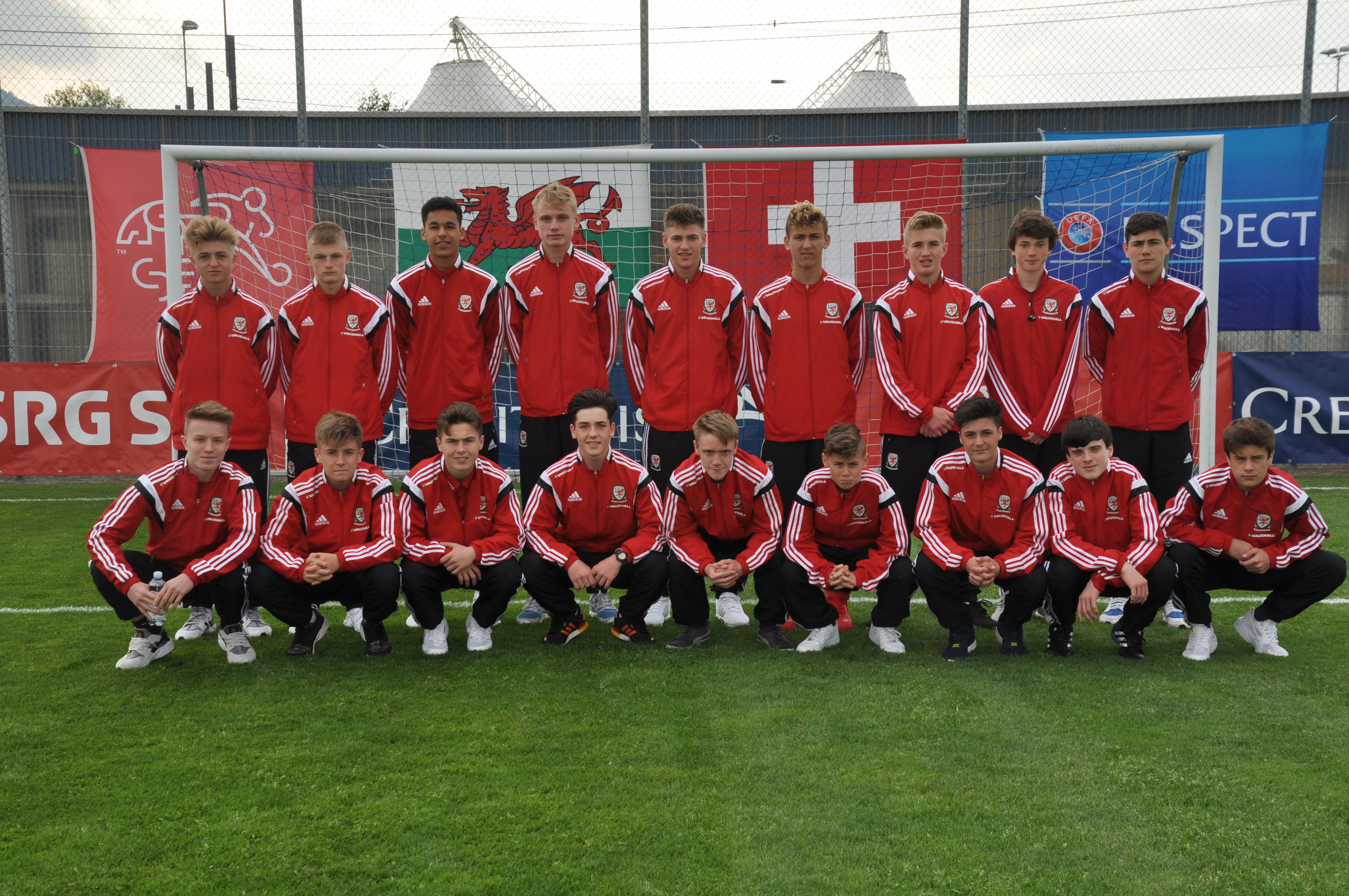 U16 National Boys Squad International Friendlies