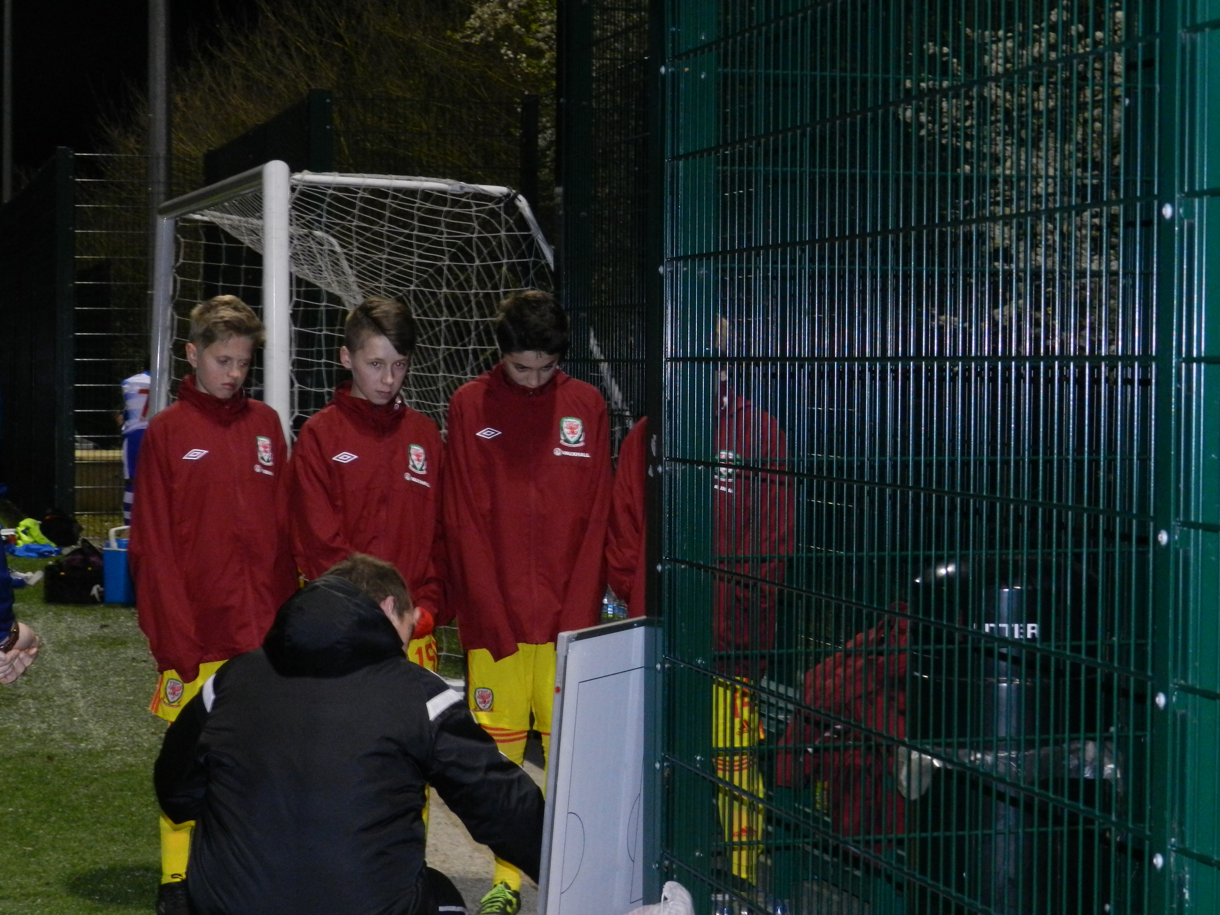Wales U14 Boys get steep learning curve at Reading FC Academy