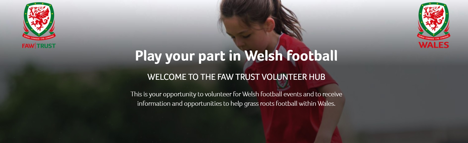 Get involved in the game you love with our new football volunteers app