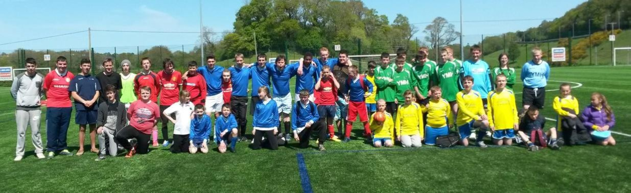 Bangor City FC Play Host to Disability Schools Festival