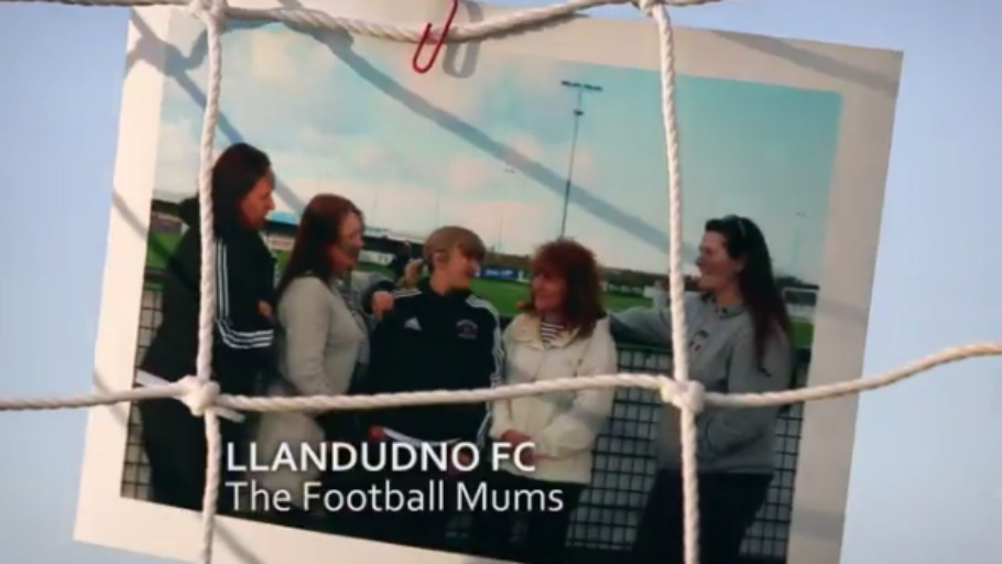 How these Welsh mums did something amazing for their football club