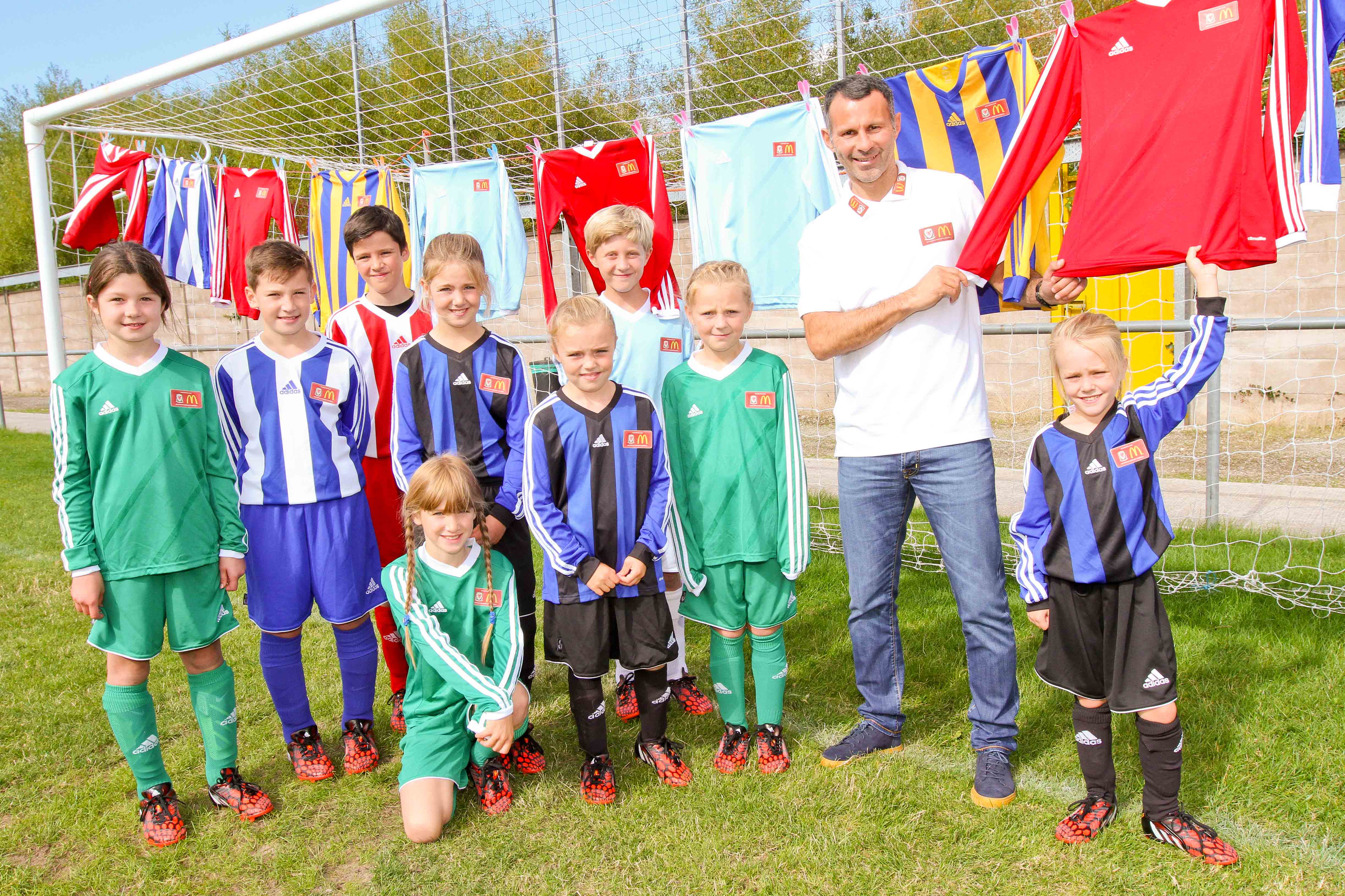 McDonald's Offers 70,000 Free Kits to Accredited Grassroots Clubs in the UK