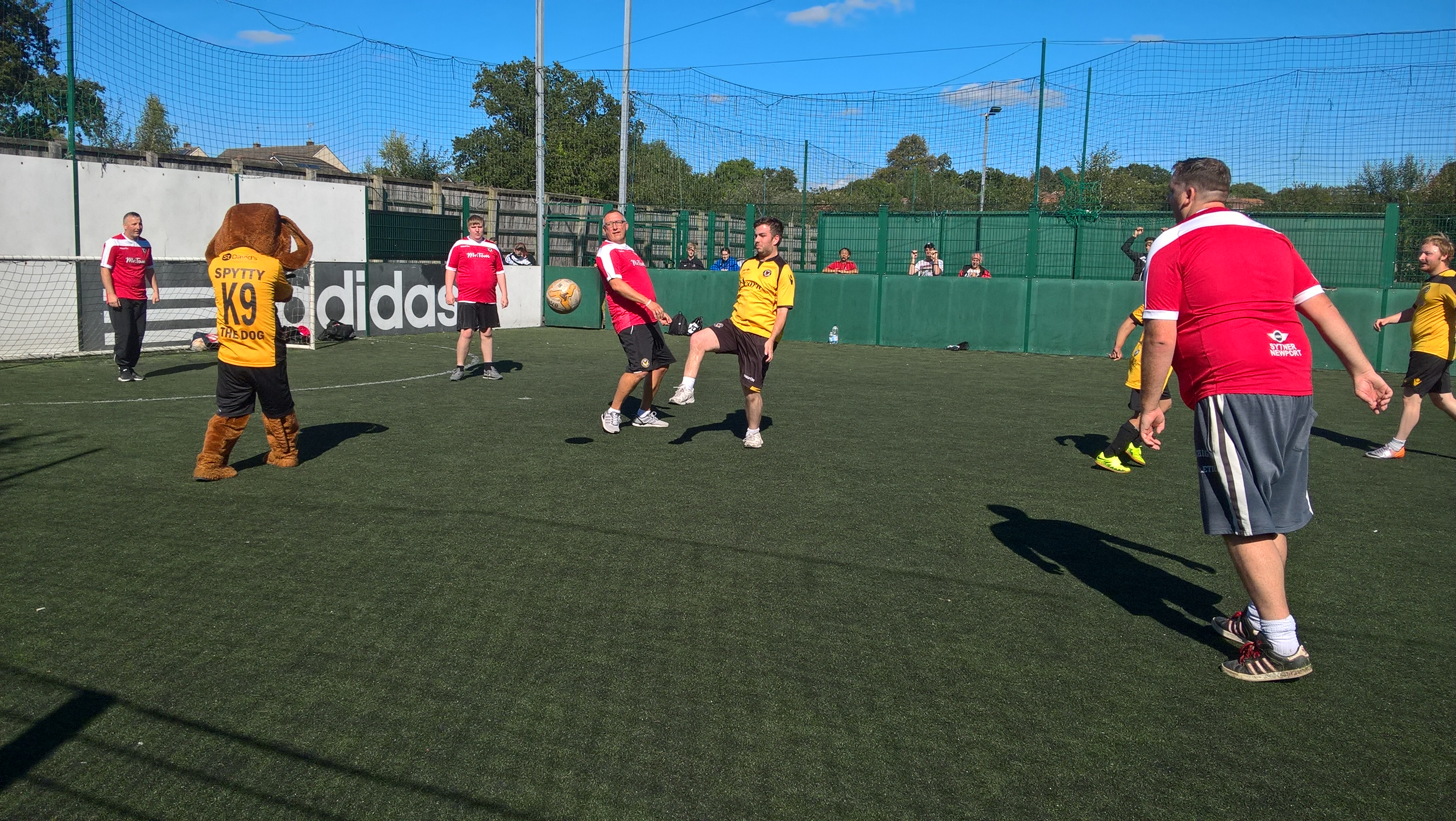We're celebrating the great work Welsh football has done for mental health sufferers with a tournament