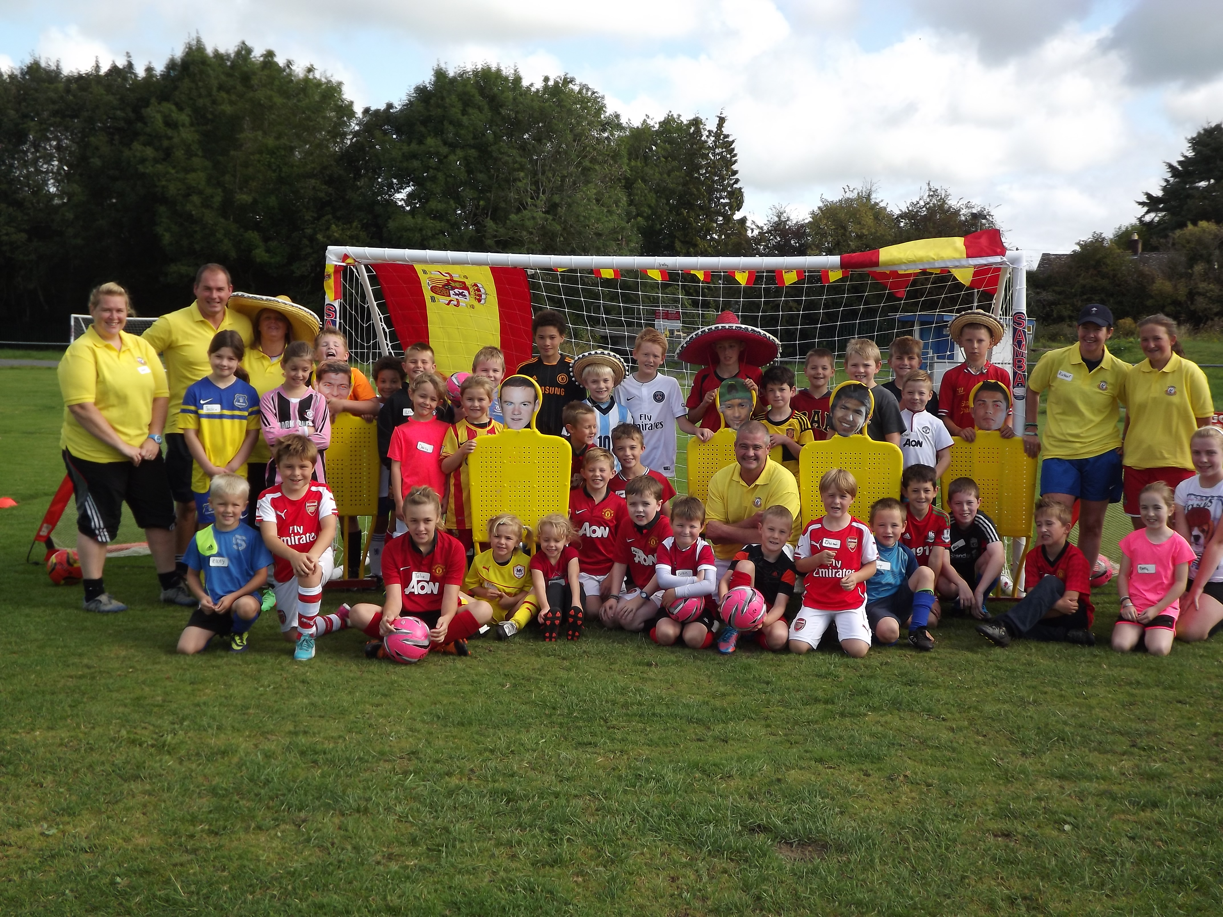 A  SUMMER OF FOOTBALL FUN IN WALES