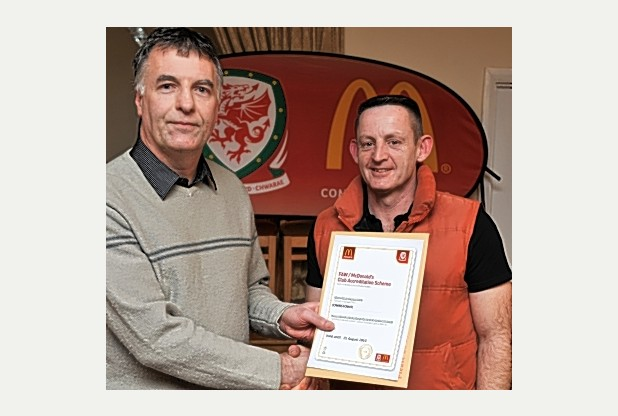 100% FAW Club Accreditation rewarded in Carmarthenshire