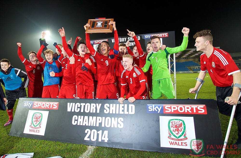 Wales win the 2014/15 Victory Shield