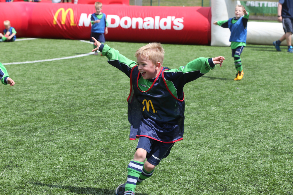 Sign your club up for an unforgettable McDonald's Community Football Day