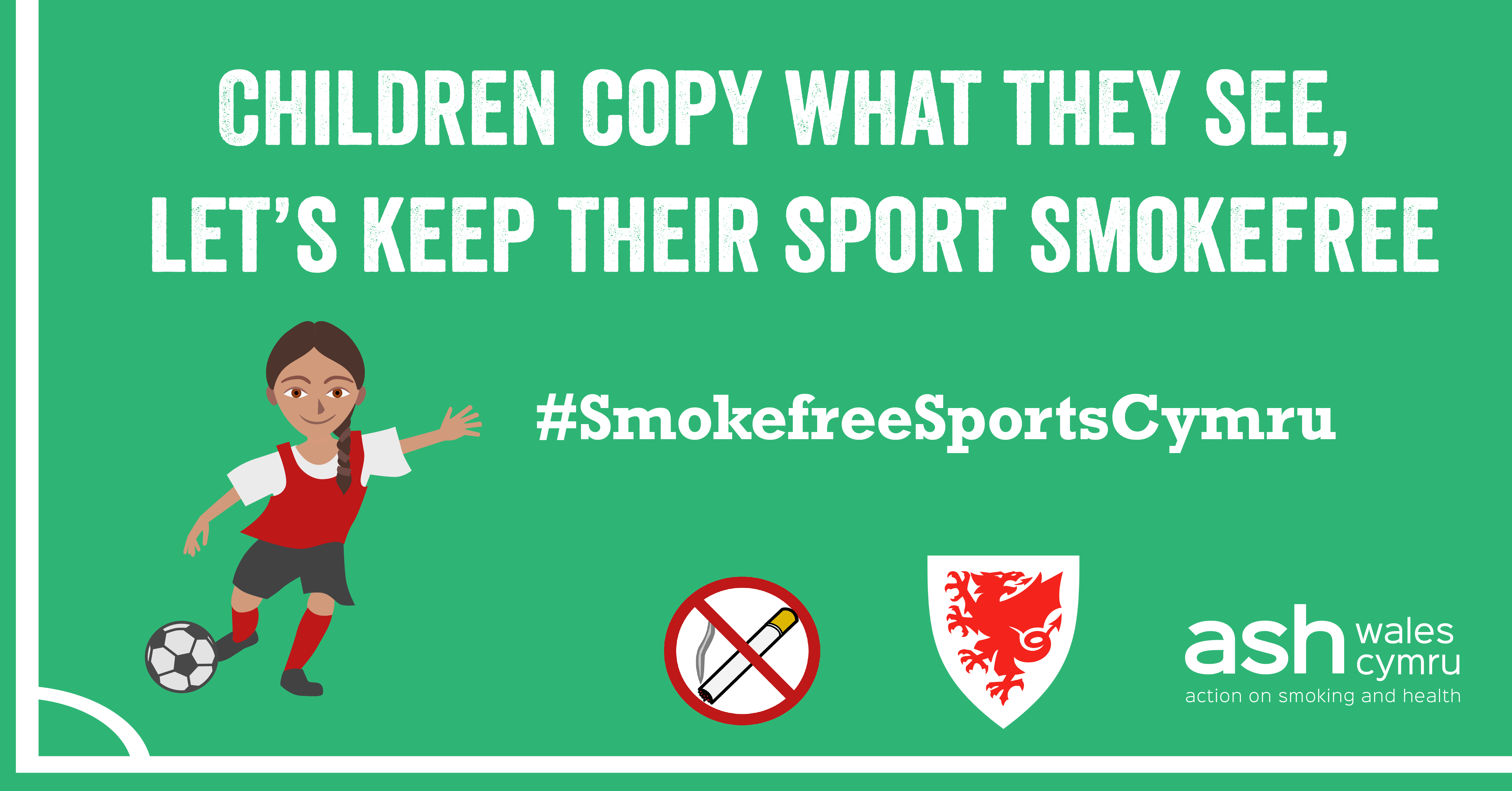Smoking banned on sidelines of junior football in Wales
