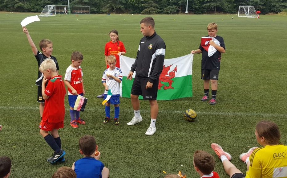 Wrexham AFC enjoy record breaking summer camp turnout