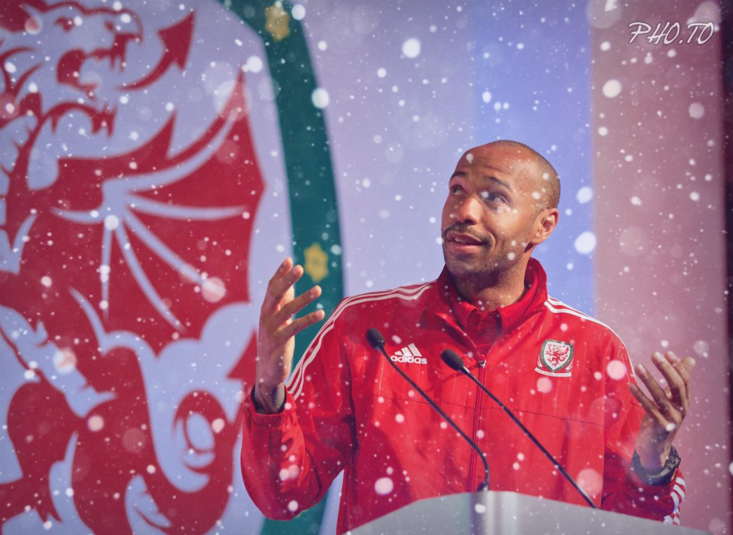 A Christmas message for the Welsh Football Family from Thierry Henry