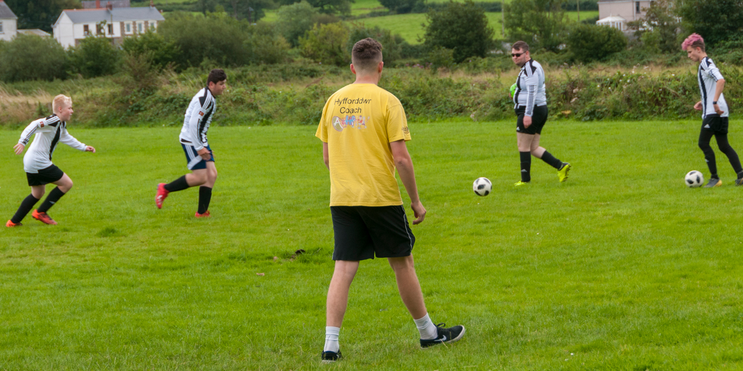 How Ammanford AFC Juniors are driving disability football forward in West Wales