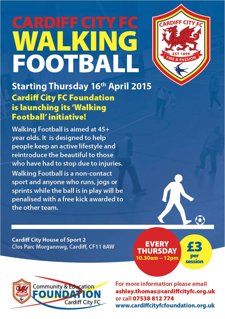 Exciting New Well-Being Programmes from Cardiff City FC