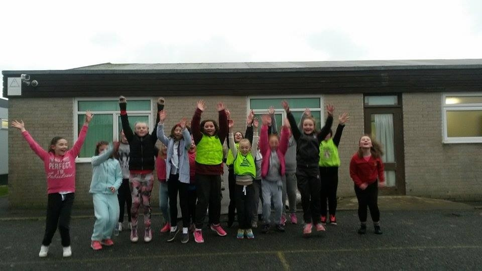 Bangor City FC Launch Holyhead Phase of Girls Football Project