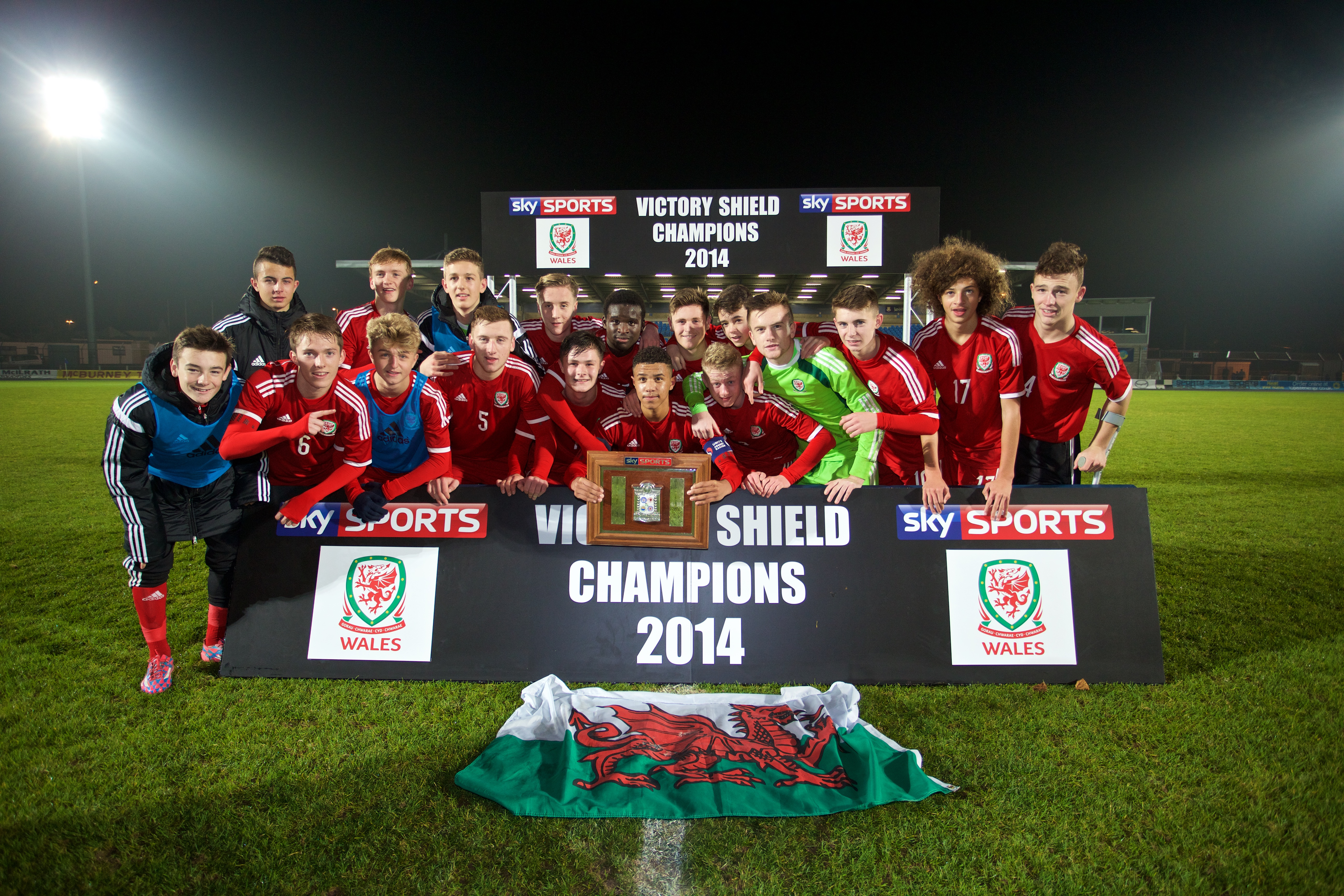 Wales to host U16 Victory Shield Tournament