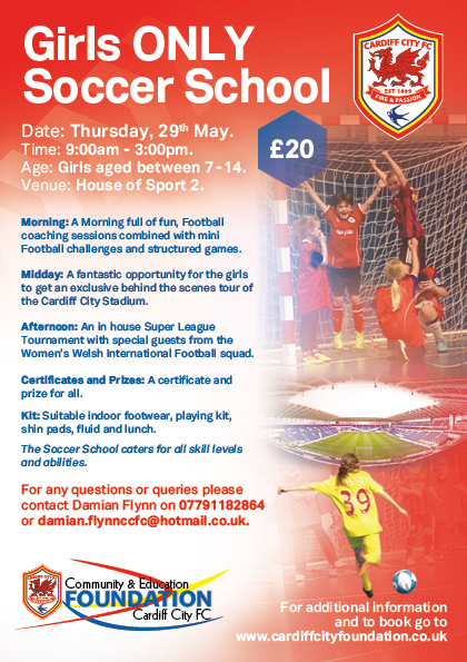 Cardiff City Girls Only Soccer School