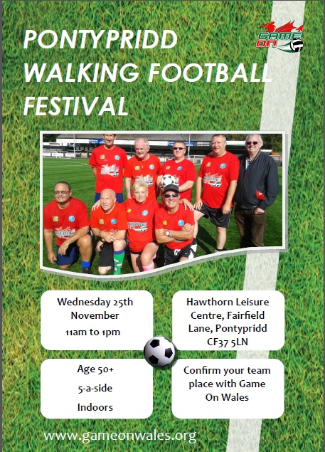 Walking Football Festival Pontypridd